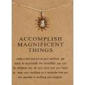 Fio Accomplish Magnificent Things - Dourado