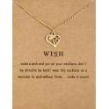Fio Wish (Heart) - Dourado