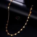 Fio Aço Inox Link de Estrelas - Dourado