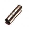 Fecho Metal Tubo Pressão - Prateado (4 mm)