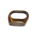Conta Zamak Argola Separador - Bronze (Extra-Grosso)
