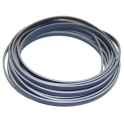 Cabedal Plano Liso Blue - Grey (5 mm)