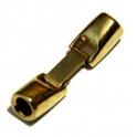 Fecho Zamak de Encaixe - Ouro (5mm)