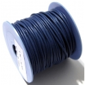 Cabedal Redondo de 2 mm Blue - 50 cm