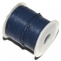 Cabedal redondo de 1 mm Dark Blue - 50 cm