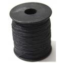 Fio de algodão black (1 mm) - 1 metro