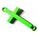 Conector Cruz Fluorescente Peq - Green