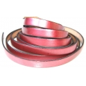 Cabedal Plano Liso Metal Red (10 x 2)