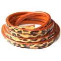 Cabedal Extra-Grosso Metal Leopard