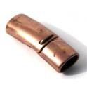 Fecho Zamak Encaixe e Iman - Copper (Extra-Grosso)