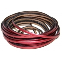 Cabedal Plano Metal Red (5 mm)
