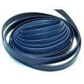 Cabedal Plano Aba Dobrada Blue Mat. (10 x 2)