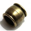 Fecho Zamak Iman - Bronze (10 mm)