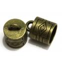 Terminal Metal Cubista - Bronze (15 mm)