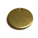 Pendente Zamak Moeda - Dourado (20 mm)