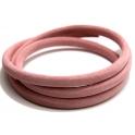 Cabedal Extra-Grosso Forrado Camurça - Pink