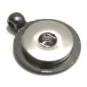 Base Pendente Easy Button Circular - Black nickelcolour