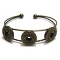 Pulseira Easy Button Metal - Bronze