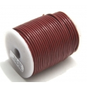 Cabedal Redondo de 2 mm Burdeaux - 50 cm