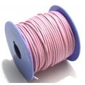 Cabedal Redondo de 2 mm Pink 3 - 50 cm