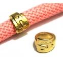 Conta Zamak Fivela - Dourado (10 mm)