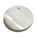 Pendente de Madrepérola Redondo (30 mm)