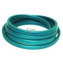 Cabedal Extra-Grosso Azul Turquesa Metalizado