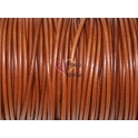 Cabedal Redondo de 3 mm Coñac (50cm)
