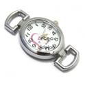 Mostrador de Relógio Casual Chic - Prateado